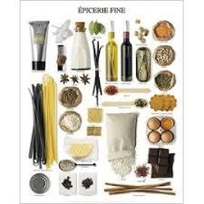 affiches cuisine cuisine poster reproduction épicerie 50x40 cm