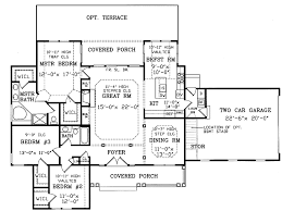 open space house plans hammond place southern home plan 016d 0001 house plans and more