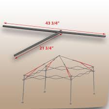 Quik Shade Summit 10x10 Instant Canopy by Coleman 10 U0027x10 U0027 Straight Leg Canopy Gazebo 2 Peak Truss Bars