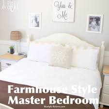farmhouse style master bedroom u0026 some new signs