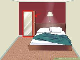 How To Get A Sofa Through A Narrow Door How To Decorate A Bedroom With Pictures Wikihow