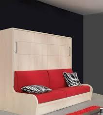 armoire lit avec canapé armoire lit transversal zurich autoporteur avec canapé couchage