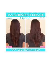 Vitamins That Help With Hair Growth Sugarbearhair Gummy Hair Vitamins 60 Gummies Per Bottle