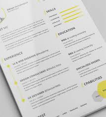 Example Of Resume And Cover Letter by 50 Beautiful Free Resume Cv Templates In Ai Indesign U0026 Psd Formats