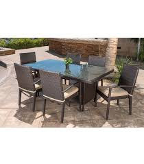 Patio Furniture 7 Piece Dining Set - patio furniture belmont 7 piece dining set