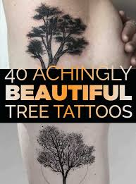 40 achingly beautiful tree tattoos popular tattoos and
