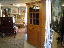 antique corner cabinet ebay