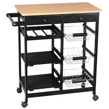 kitchen storage island cart new big sale merax kitchen storage trolley cart