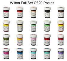 wilton 28g icing colour gel paste for sugarcraft various colours