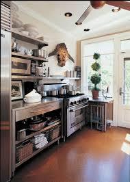 stainless steel kitchen ideas open shelving for a stainless steel kitchen cabinets my style