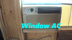 Window Ac With Heater Window Ac Unit For Cabin Shed Dog You Off Grid Etc Keep