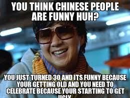 Funny Chinese Memes - mr chow you think chinese people are funny huh you just turned
