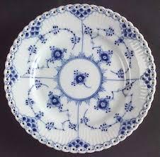 royal copenhagen blue fluted lace no trim at replacements