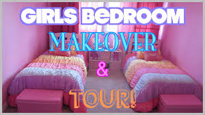 girls bedroom makeover u0026 tour on a budget before u0026 after