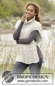 drops design poncho come winter drops 173 46 free knitting patterns by drops design