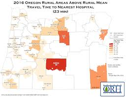 State Map Of Oregon by Oregon Resources Rural Health Information Hub