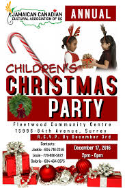 upcoming events u2013 children u0027s christmas party u2013 jamaican canadian