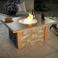 build a propane fire table diy fire table fire pit table diy propane fire table kit