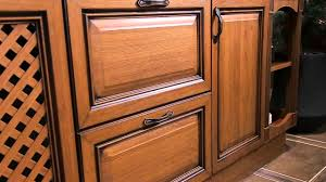 Plastic Kitchen Cabinets Pvc Kitchen Cabinet With Wood Grain Effect From Oppein Youtube