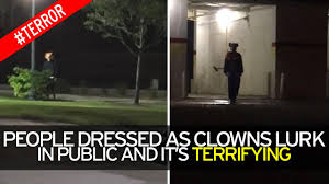 scary halloween background videos what is the creepy clown craze everything you need to know about