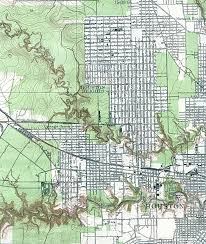 old houston maps houston past