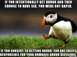 Drunk Sex Meme - if two drunk people have sex is it mutual rape meme on imgur