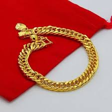 aliexpress buy new arrival fashion 24k gp gold high quality 24k golden bracelet buy cheap 24k golden bracelet