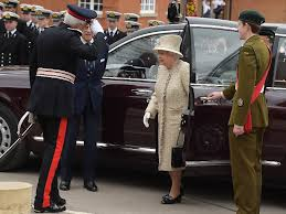 the queen and the duke of edinburgh arrive at pangbourne college