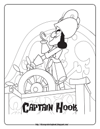 downloads online coloring page jake neverland pirates coloring