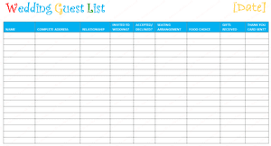 wedding register book 7 free wedding guest list templates and managers