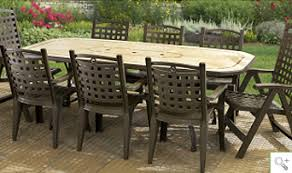 resin patio table with umbrella hole premium collection at outdoor resin patio furniture free patio
