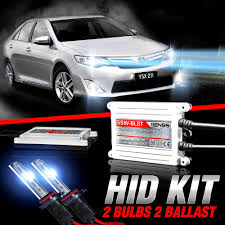 genssi hid xenon conversion kit bulbs for toyota camry 2007 2016 w