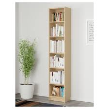 billy bookcase birch veneer 40x28x202 cm ikea