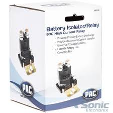 pac pac 80 80 amp battery isolator pac80 sonic electronix