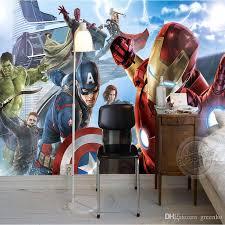 Children S Room Interior Images Avengers Boys Bedroom Photo Wallpaper Custom 3d Wall Murals Marvel