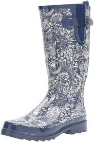 Decorated Walking Boot 24 Of The Best Rain Boots You Can Get On Amazon
