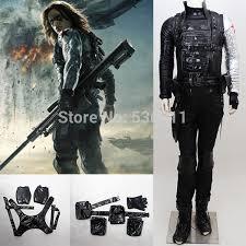 Halloween Costumes Soldier Aliexpress Buy Captain America 2 Winter Soldier Bucky