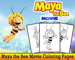 maya bee movie free printable coloring pages skgaleana
