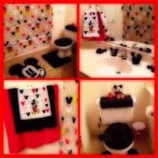 Mickey Bathroom Accessories by Mickey Mouse Bathroom Decor Mickey Mouse Bathroom Accessories