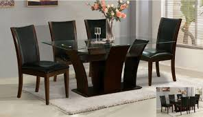 6 Seater Round Glass Dining Table Rectangle Dining Table For 6 Tripton Rectangular Dining Table W 6