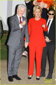 katy perry dresses as hillary clinton for halloween orlando bloom