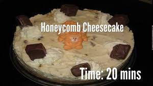 honeycomb cheesecake recipe youtube