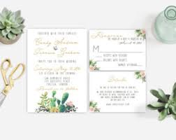 succulent wedding invitations view wedding invitations by momentidesignstud on cactus wedding
