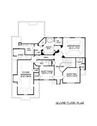 second story floor plans contemporary home plan 4 bedrms 4 5 baths 3734 sq ft 127 1018
