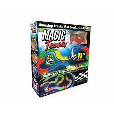 as seen on tv light up track the magic tracks the amazing racetrack that can bend flex and glow