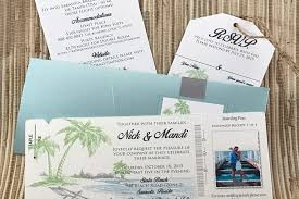 Regency Wedding Invitations Boarding Pass Invitations U2014 The Stylish Scribe