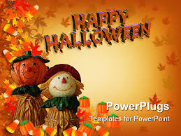 halloween candy powerpoint template u2013 images free download
