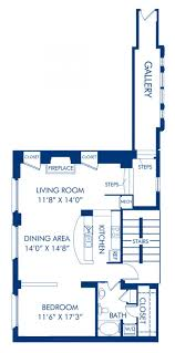 Floor Plan Of A Living Room Studio 1 U0026 2 Bedroom Apartments In Washington Dc Camden Grand Parc