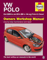 haynes workshop repair manual for vw polo 2009 2014 ebay
