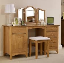 Pine Oak Furniture Trent Solid Pine Double Pedestal Dressing Table Oak Furniture Uk